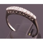 18CT old Vintage diamond band