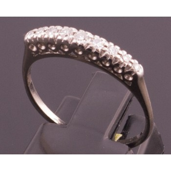 18CT old Vintage diamond band SOLD