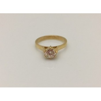 18ct 6 Claw Set Diamond Solitaire Ring