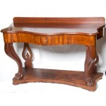 Mahogany Hall Table C1880