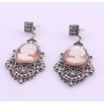 Classical Cameo Vintage Style Earrings