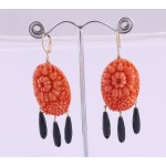 Striking And Bright Designer Earrings