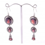 Stunning Garnet Drop Earrings