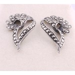 Vintage 40's Style Marcasite Earrings